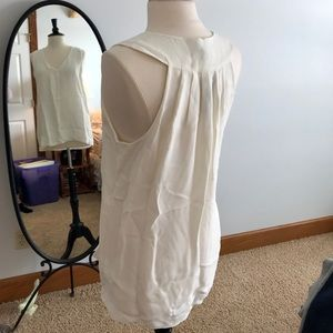 NWT J. Crew Ivory top in size 10 Tall!